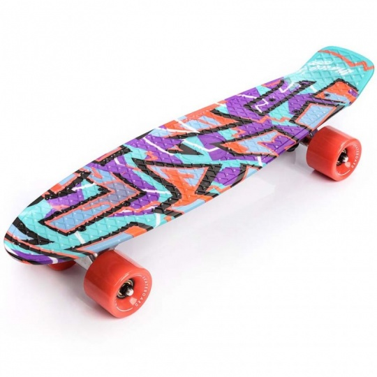 Pennyboard Graffiti Meteor Multicolor 22604