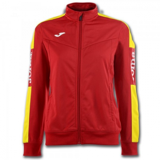 JACKET CHAMPIONSHIP IV RED-YELLOW WOMAN