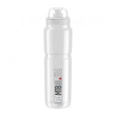 fľaša ELITE FLY MTB 20 číra / sivé logo 950 ml