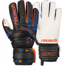 Goalkeeper gloves Reusch Attrakt SG Finger Support Jr 5072810 7783