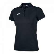 HOBBY WOMEN POLO SHIRT BLACK S/S