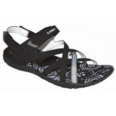 topánky dámske LOAP Caipi sandále čierno / biele