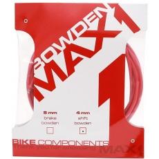 bowden max1 4 mm červený balenie 3 m