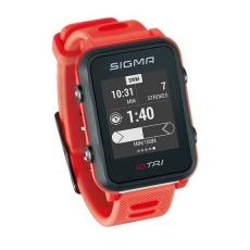 chytré hodinky SIGMA iD.TRI Basic červené