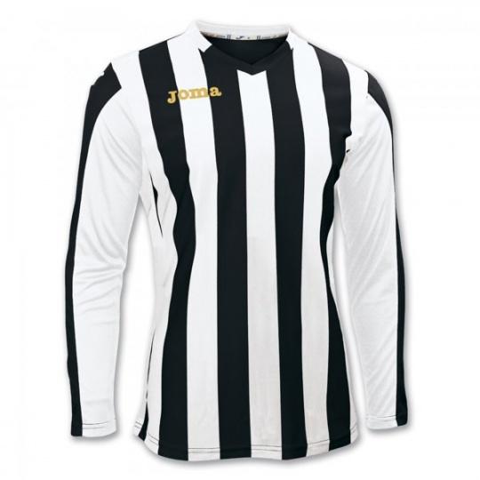 T-SHIRT COPA BLACK-WHITE L/S