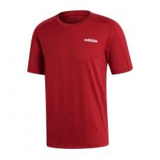 Adidas D2M Tee Plain M EI5663 training t-shirt