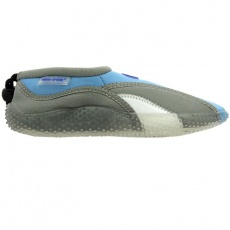Aqua-Speed Jr. neoprene beach shoes gray