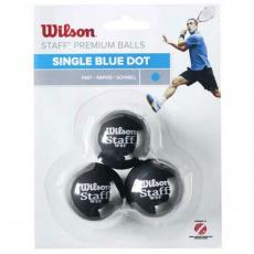 Squash balls Staff Single Blue Dot