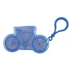 přívěšek reflexní kolo modré