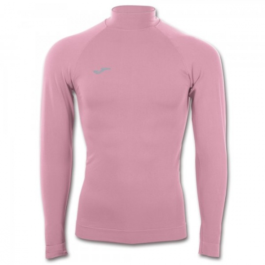 PINK LONG SLEEVED SHIRT TURTLE NECK (SEAMLESS