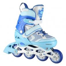 Detské kolieskové korčule NILS Extreme NA14198 modré