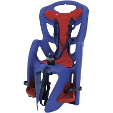 sedačka zadný na nosič modro / červená