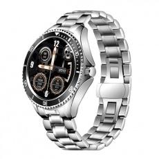 Watch, smartwatch Men 4S silver-black, steel