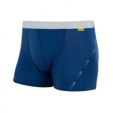 boxerky Sensor MERINO AIR modré