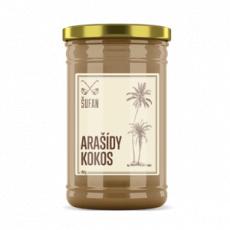 Arašidy - Kokos 60/40 mělněné 950g (arašidové-kokosový krém)