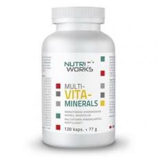 Multivitaminerals 120 kapsúl (Zmes vitamínov a minerálov)