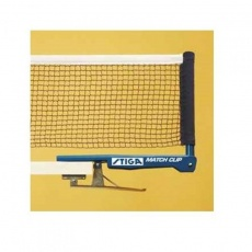 STIGA Match Clip table tennis net with handles