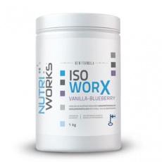 Iso Worx NEW FORMULA 1kg vanilka - čučoriedka + Vitamín C 200g ZADARMO