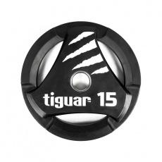 Olympic plate tiguar PU 15 kg