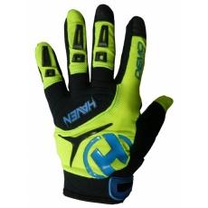 rukavice HAVEN DEMO LONG zeleno / modré