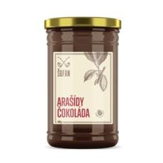 Arašidy - Čokoláda pražené mělněné 1000g (arašidové-čokoládový krém)