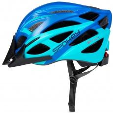 FEMME Cyklistická prilba pre dospelých a juniorov IN-MOLD, 58-61 cm, modrá