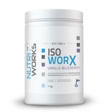 Iso Worx NEW FORMULA 1kg vanilka - borůvka