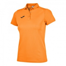 HOBBY WOMEN POLO SHIRT ORANGE FLUOR S/S