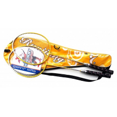 badmintonová sada DE LUXE žlutá