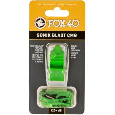 Sonik Blast CMG whistle + green string