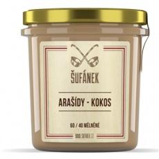 Arašidy - Kokos 60/40 mělněné 300g (arašidové-kokosový krém)