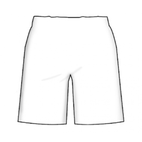 SHORTS FED. TENNIS ITALY WHITE