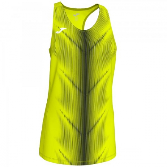 OLIMPIA T-SHIRT F.YELLOW-BLACK SLEEVELESS WOMAN