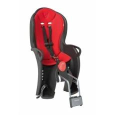 sedačka HAMAX SLEEPY čierno / červená