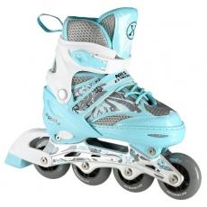 Detské kolieskové korčule NILS Extreme NA10602 modré