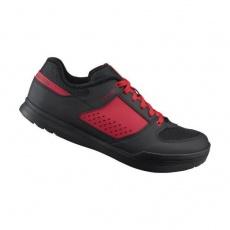 boty Shimano AM5 červené