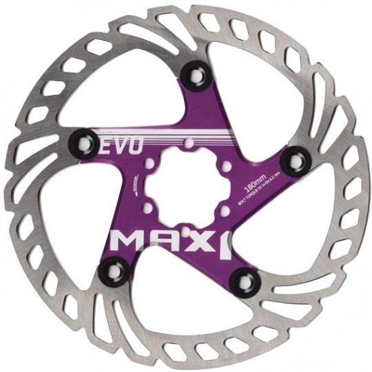 brzdový kotouč MAX1 Evo 180 mm fialový