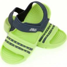 Aqua-speed Noli sandals green navy blue col. 84