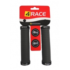 gripy 4RACE 2x Lock 130mm šedej