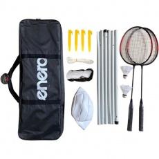 Badminton and satchel set Enero 6in1 1036359