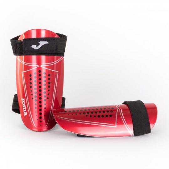 DEFENSE SHIN GUARDS RED