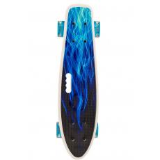 Crazy Board BLUE FIRE Pennyboard LED