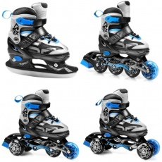 Inline skates Spokey Quattro 4in1 Jr 926655-926656
