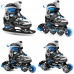 Inline skates Spokey Quattro 4in1 Jr 926655-926656