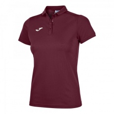 HOBBY WOMEN POLO SHIRT BURGUNDY S/S