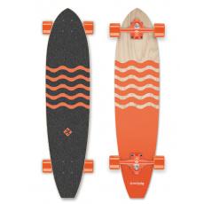 """Street Surfing Longboard Street Surfing CUT KICKTAIL 36"""" Blown Out"""