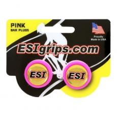 zátky riadidiel ESI ružové