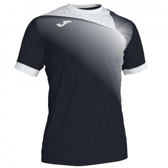 HISPA II T-SHIRT BLACK-WHITE S/S