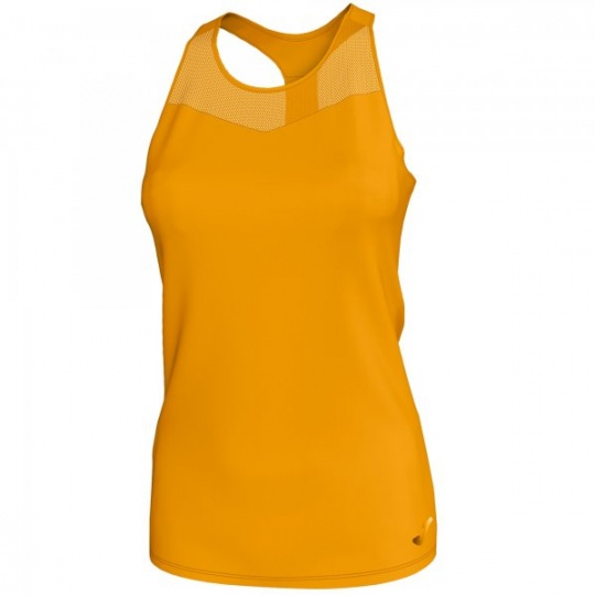 T-SHIRT ELECTRA MUSTARD MESH SLEEVELESS WOMAN