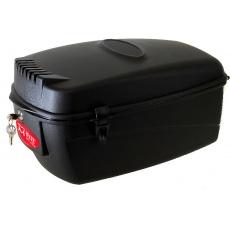 box na nosič M-WAVE plastový, 17l, so zámkom